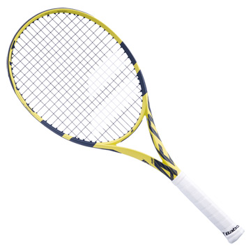 Babolat Pure Aero Super Lite Tennis Racket (Yellow-Black)