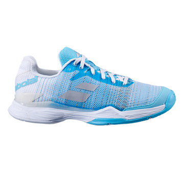 Babolat Jet Mach II All Court Womens Tennis Shoes (Capri-White)