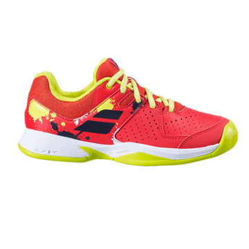 Babolat Pulsion All Court Junior Tennis Shoes (Tomato Red)