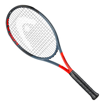 Head Graphene 360 Radical MP Tennis Racket (Anthracite-Grey)