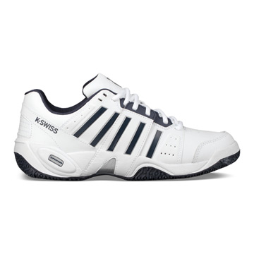 K-Swiss Accomplish III Omni Mens Tennis Shoes (White-Navy)