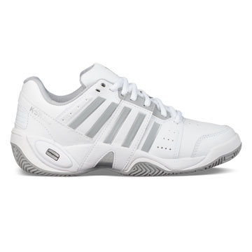 K-Swiss Accomplish III Womens Tennis Shoes (White-High Rise)