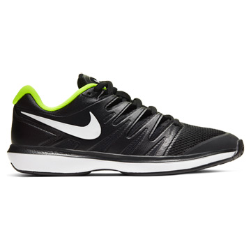Nike Air Zoom Prestige Mens Tennis Shoes (Black-White-Volt)