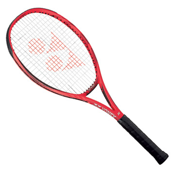 Yonex VCore 100 G Tennis Racket (Customised Restring) Flame Red