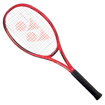 Yonex VCore 98 LG Tennis Racket (Customised Restring) Flame Red