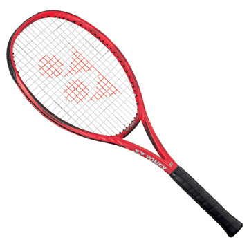 Yonex VCore Game Tennis Racket (Customised Restring) Flame Red