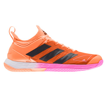 Adidas Adizero Ubersonic 4 Mens Tennis Shoes (Screaming Orange-Core Black-Screaming Pink)